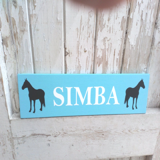 Outdoor Personalised Equestrian Stable Sign